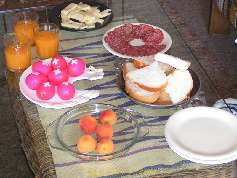 A great Swiss breakfast