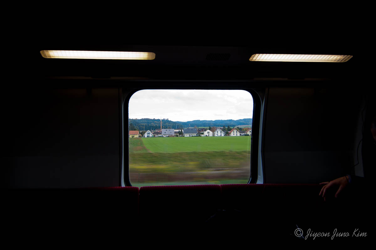 Switzerland train view