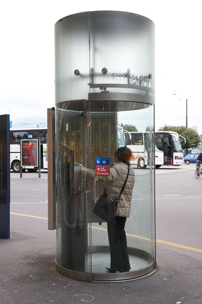 Telephone booth, Lucerne