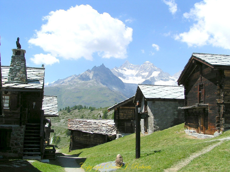 Findeln, Zermatt, Switzerland