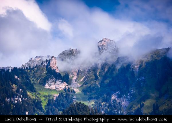 Europe - Switzerland - Swiss - Alps - Alpen - Alpi - Alpes - Great mountain range of Europe - Area around Thunersee - Lake Thun