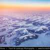 Europe - Switzerland - Swiss - Alps - Alpen - Alpi - Alpes - Great mountain range of Europe - Aerial view over high mountain peaks with winter snow cover