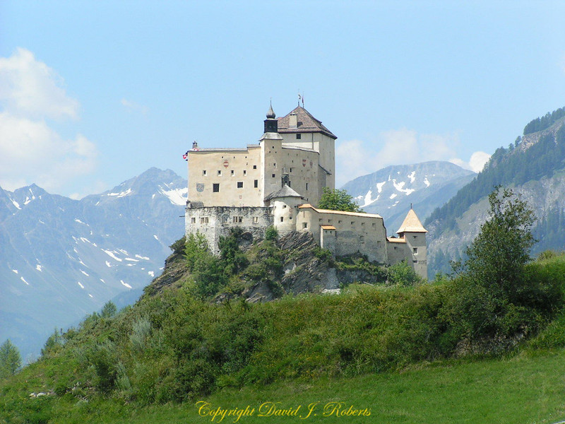 Volpera Castle, Switzerland