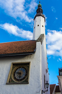 Church of the Holy Ghost. First Church in Tallinn to hold service in Estonian.