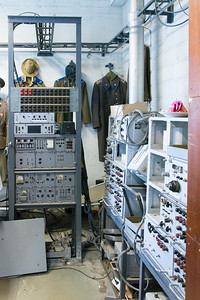 Communications center of the KGB