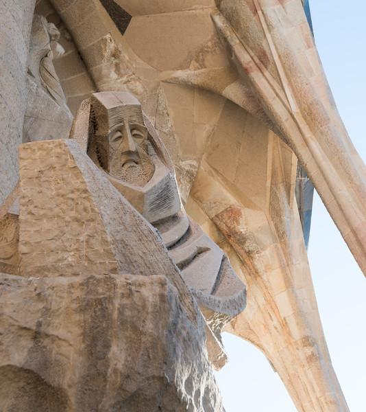 La Sagrada Familia Detail