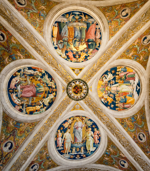 Vatican Museum Celing Detail