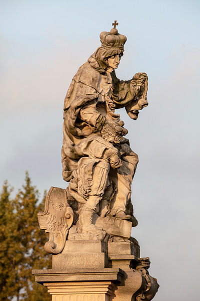 Statue of St. Ludmilla of Bohemia