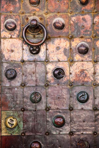Copper Door On Temple Mount