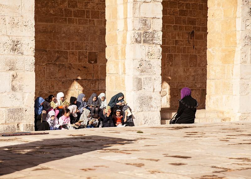 All-Girl Madrasa On Temple Mount
