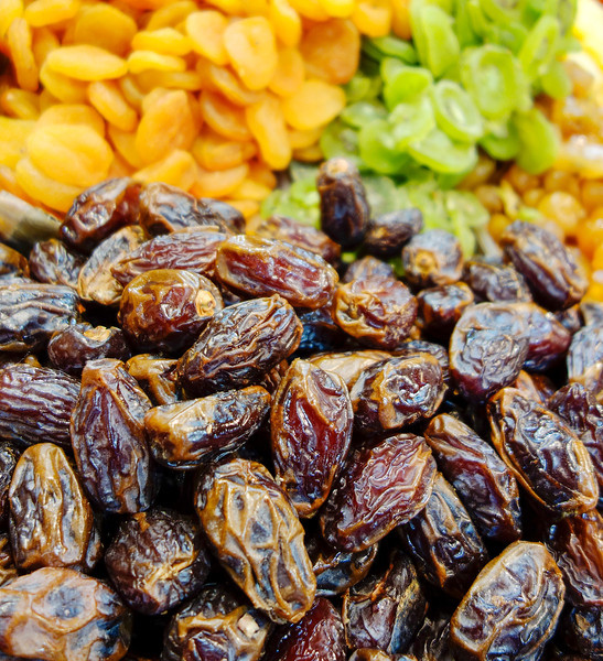 Dried Dates At Market