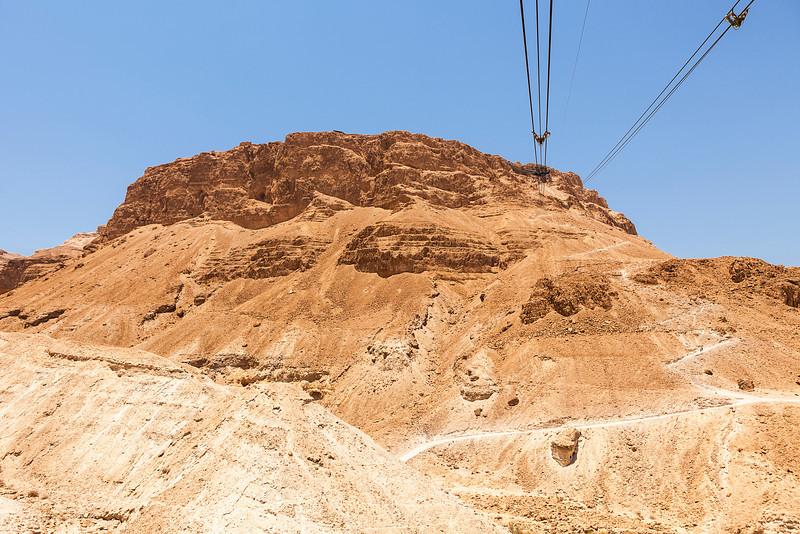 Cables To The Masada Plateau