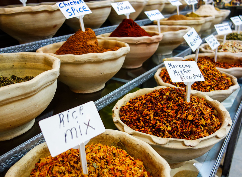 Mideast Spice Bowls