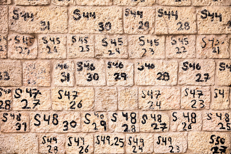Numbers On The Wall