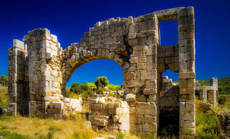 Patara (later renamed Arsinoe), Turkey