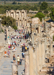 Library of Celsus, Ephesus, Turkey, 2012