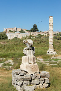 Site of the temple of Artemis, Ephesus, Turkey, 2012