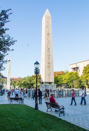 Obelisk of Theodosius, Istanbul, Turkey, 2012