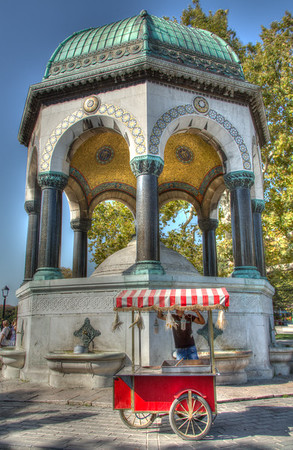 German Fountain, Istanbul, Turkey, 2012