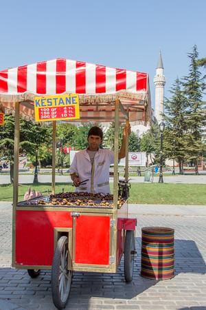 Chestnut Vendor, Istanbul, Turkey, 2012