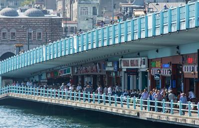 Bridge between Asia and Europe, Istanbul, Turkey, 2012