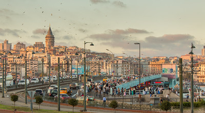 Late Afternoon Bustle, Istanbul, Turkey, 2012