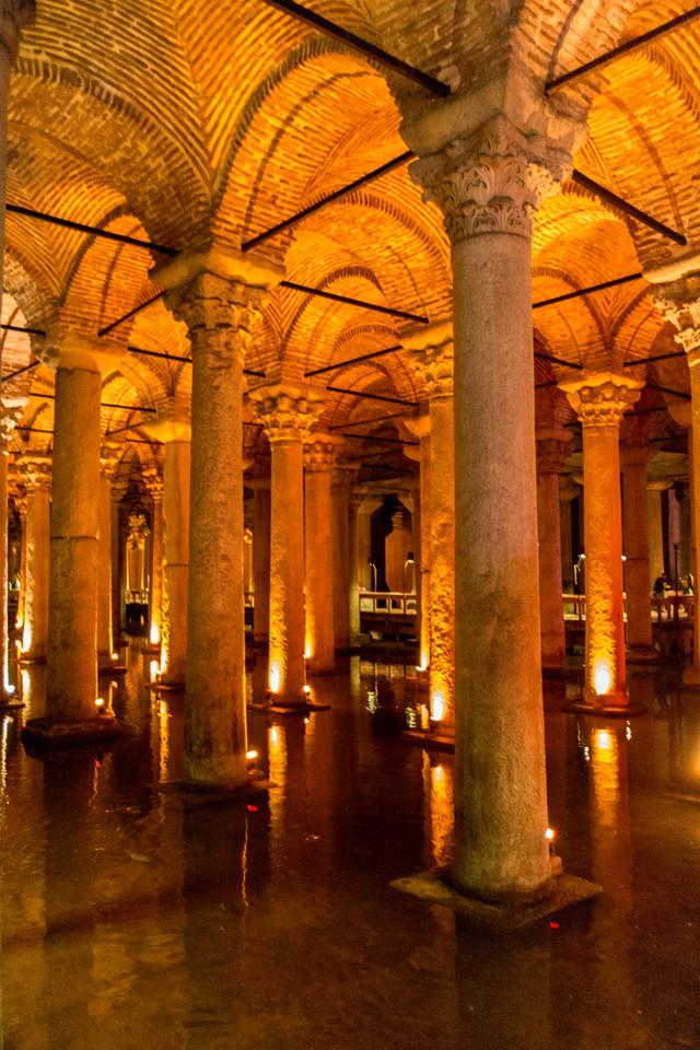 Underground Cisterns, Istanbul, Turkey, 2012