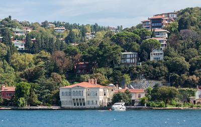 Bosphorus Cruise, Istanbul, Turkey, 2012