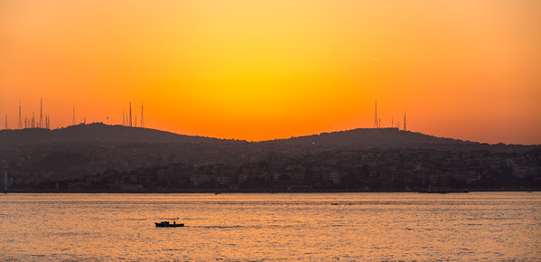 Sunrise, Istanbul, Turkey, 2012