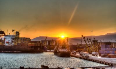 Sunrise, Izmir, Turkey, 2012