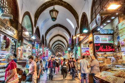 Spice Bazaar, Istanbul, Turkey, 2012