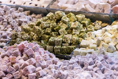 Turkish Delight, Spice Bazaar, Istanbul, Turkey, 2012