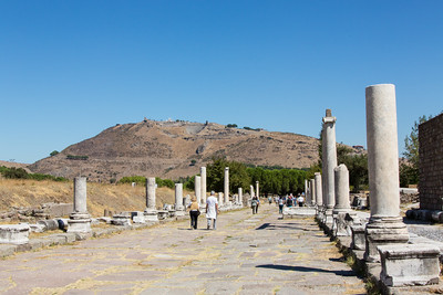 Sanctuary of Asclepion, Pergamon, Turkey, 2012
