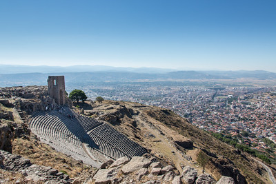Theater, Pergamon, Turkey, 2012