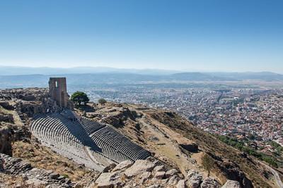 Theater, Pergamon, Turkey, 2012