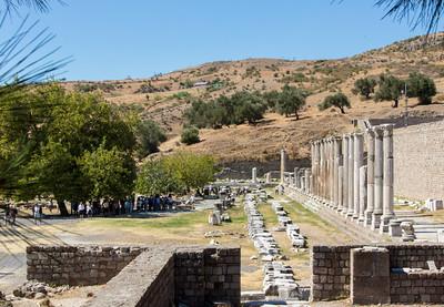 Sanctuary of Asclepion, Pergamon, Turkey, 2012