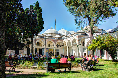 Topkapi Palace, Istanbul, Turkey, 2012