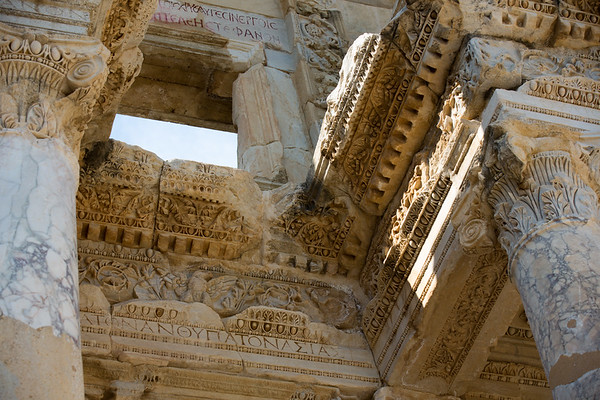 Ephesus Ruins Closeup