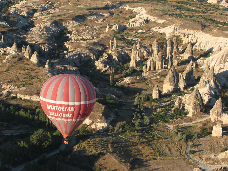 Balloon ride over Capadocia, Goreme, Turkey