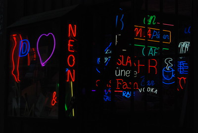Neon store, Istanbul Turkey 2009