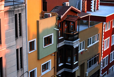 View in Sultanahmet, Istanbul Turkey 2009