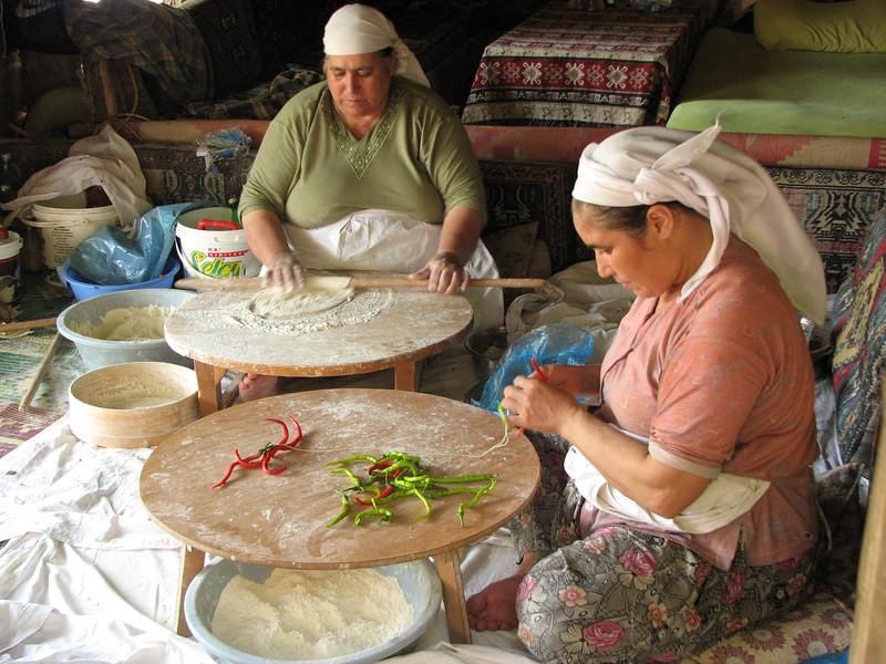 Making Gozleme, Selcuk