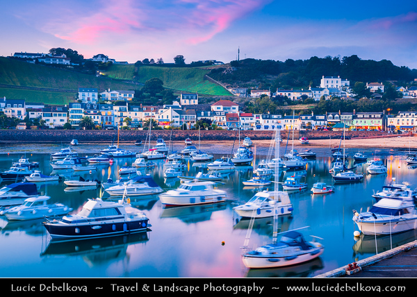 Europe - Channel Islands - Island of Jersey - Jèrriais - Bailiwick of Jersey - British Crown dependency - Gorey - Traditional picturesque village in the parishes of St. Martin and Grouville on the east coast of Jersey