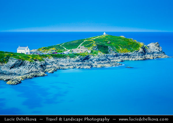 Europe - UK - England - Cornwall - Newquay - Seaside resort and fishing on the North Atlantic coast