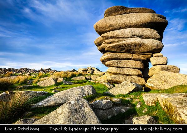 Europe - UK - England - Cornwall - Bodmin Moor - Cheesewring (Ke