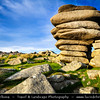 Europe - UK - England - Cornwall - Bodmin Moor - Cheesewring (Ke