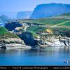 Europe - UK - England - Cornwall - North Cornish Coast - Newquay - Porth Island Foot Bridge between Watergate Bay and Whipsiderry Beach