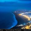 Europe - UK - United Kingdom - England - Dorset - Jurassic Coast - UNESCO World Heritage Site - Chesil Beach - Imposing shingle ridge stretches for 18 miles (28 kilometres) along coast - Pebble beach - One of natural wonders