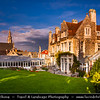 Europe - UK - United Kingdom - England - Dorset - Jurassic Coast - UNESCO World Heritage Site - Swanage - Most easterly coastal town on Jurassic Coast with gently shelving sandy beach and sheltered waters in wide Swanage Bay - Louisa Lodge & Purbeck House Hotel