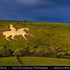 UK - England - Dorset - Weymouth - White Horse of Osmington Hill